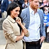 Meghan Markle Baby Name Quotes in Australia October 2018