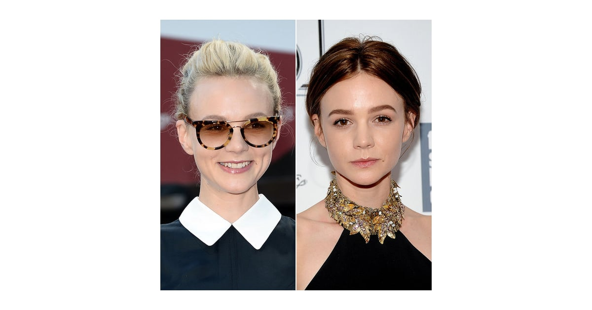 carey mulligan celebrity hairstyle changes 2013