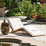 Lakewood Wood Folding Lounger