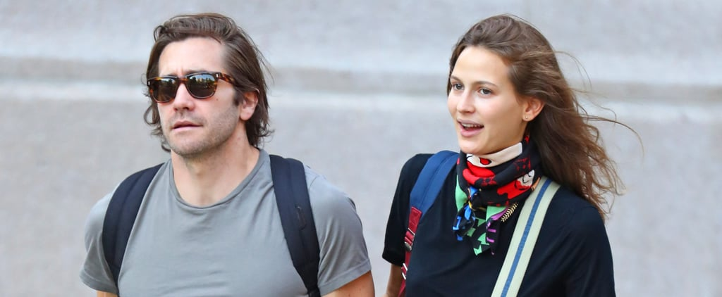 Jake Gyllenhaal and Girlfriend Jeanne Cadieu in NYC Photos