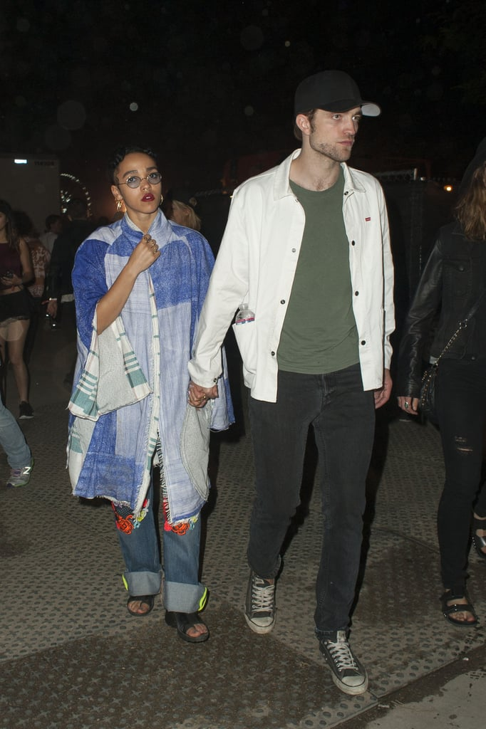 Robert Pattinson and FKA Twigs PDA at Coachella | Pictures