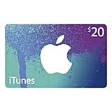 iTunes Gift Card, $20