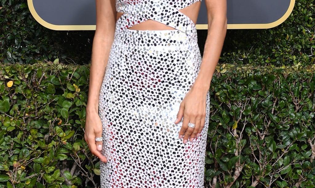 Thandie Newton at Golden Globes
