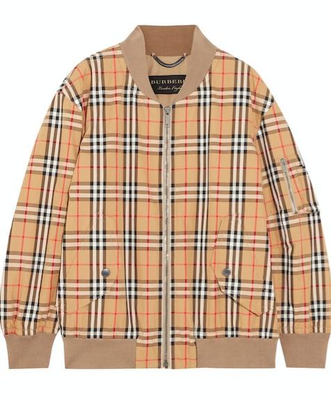 Burberry Plaid Jacket
