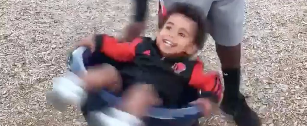 Dad's Reaction to His Son Getting Dizzy at the Park Will Spark Pure Joy