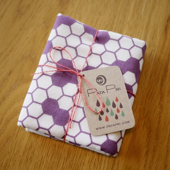 Hexagon Small Towel ($12)