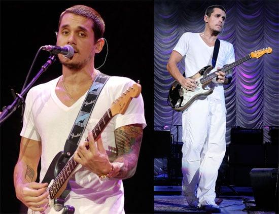 Photos of John Mayer in Concert at Cruzan Amphitheater