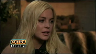 Lindsay Lohan Talks About Returning to Work On Extra
