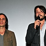 Co-producers Gael Garcia Bernal and Diego Luna speak before the Miss Bala premiere.