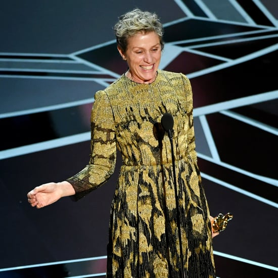 Frances McDormand 2018 Oscars Speech