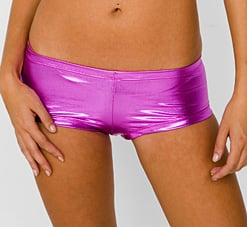 American Apparel Lamé Fuchsia Hot Short: Love It or Hate It?