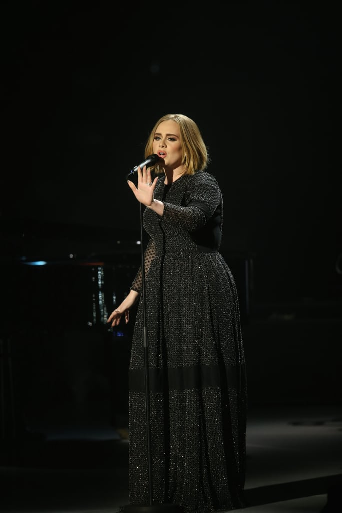Adele's Dress on The X Factor 2015