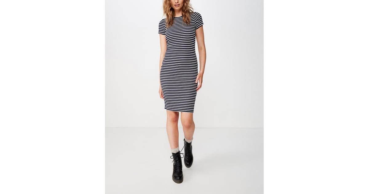 Cotton On Giselle Short Sleeve Midi Dress | The Best Macy's