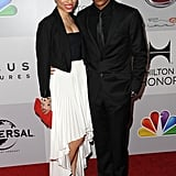 Tyler James Williams and his date attended the afterparty.