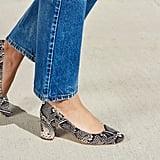 Loeffler Randall Jane Round Toe Mid Heel Pump
