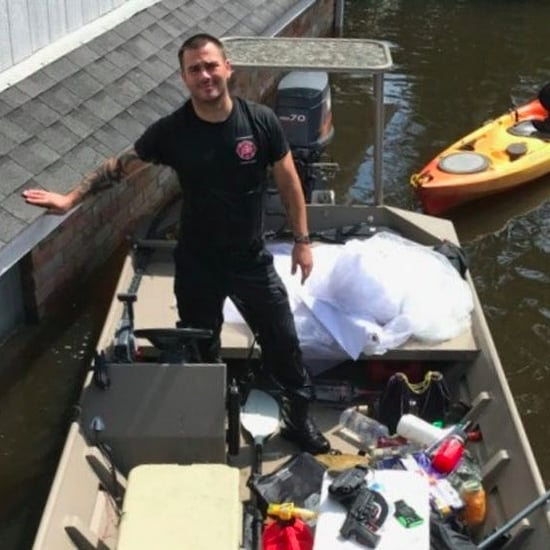 Firefighter Saves Wedding Dress From Hurricane Harvey