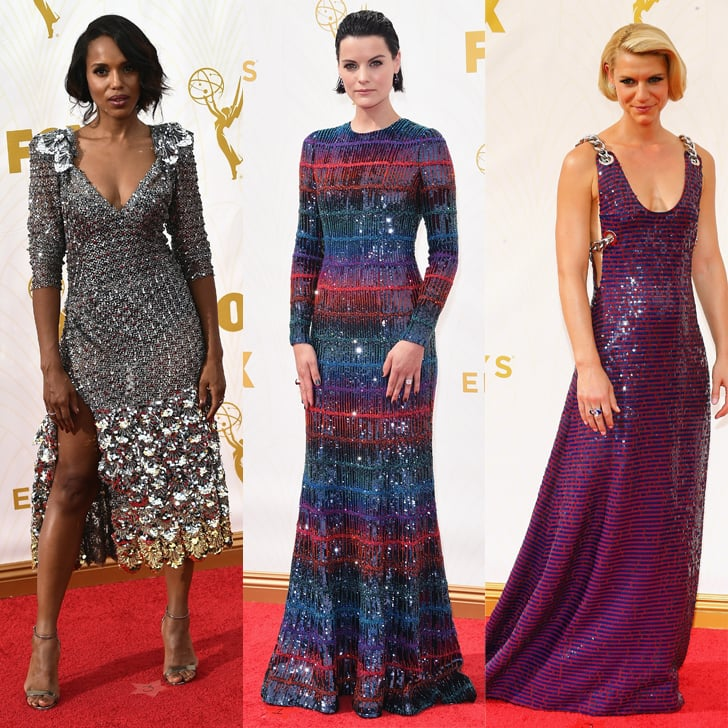 These Stars Couldn't Help but Shine on the Emmys Red Carpet