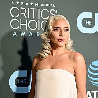 Lady Gaga Beauty at the 2019 Critics Choice Awards