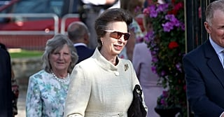 Only Princess Anne Could Wear Pearls and Tweed With Adidas Sunglasses