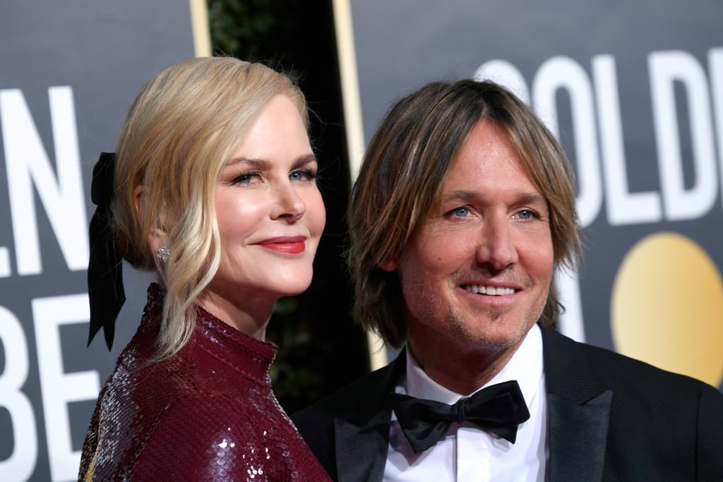 "Nicole Kidman and Keith Urban have shown yet again why they're one of Hollywood's hottest couples! On Sunday night, the two came in sizzling on the Golden Globes red carpet. While Nicole modelled a sparkly, fitted purple gown, Keith looked dapper in a tuxedo. During an interview with Variety at the event, Nicole talked about Hollywood's Time's Up movement, saying, ""I think there is change happening."" Keith was also at the awards show to support Nicole, who is nominated in the best actress category for her role in Destroyer. In the film, Nicole plays a detective for the Los Angeles Police Department who embarks on a journey to confront her dreadful past to find peace. Thankfully, Keith and Nicole's romance is much less tragic than the events in Destroyer. In fact, according to Keith, it was love at first sight when he met Nicole. And now, 12 years after getting married, the two still have the look of love. Whether they're showing some hot PDA on the beach or applauding each other at award shows year-round, Keith and Nicole seem to have a rock solid relationship. Feel free to gawk at their Golden Globes red carpet chemistry in the pictures ahead!"