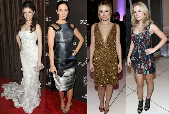 Photos of Anna Kendrick, Emily Blunt, Kristen Bell, Anna Paquin at Costume Designers Guild Awards in LA