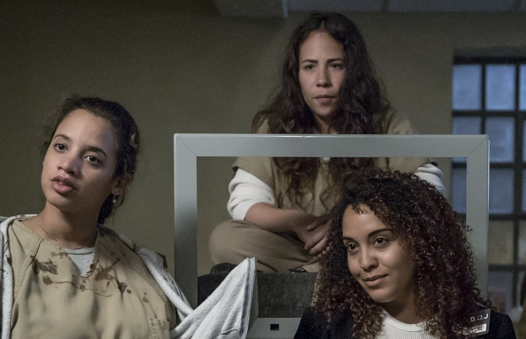 """We waited a long time for the fifth season of Orange Is the New Black, and it certainly did not disappoint. In addition to seeing more of """"Skinhead"""" Helen and the drugged-out dynamic duo of Leanne (Emma Myles) and Angie (Julie Lake), we got a closer look at Carmen """"Ouija"""" Aziza (Rosal Colon). Rosal plays a tough Dominican inmate who gets transferred to Litchfield and becomes part of Maria Flores's gang, but her makeunder definitely doesn't do her justice.        Related:                                                                                                           24 Awesome Snaps of the OITNB Cast Being Real-Life Friends               Judging from her Instagram photos, Rosal is a lot more glamorous and bubbly in real life. In fact, Rosal says the only thing she and Ouija have in common is their sense of humour. """"My character in Orange Is The New Black is strong, intelligent, likes to joke a lot, is not afraid to be violent if you have to rectify a situation or if you have to defend your sisters,"""" Rosal told People En Español in 2016. """"What I have in common with my character is that we're both clowns, sometimes. Maybe not in the best situations but we like to laugh."""" While Rosal's transformation may not be as drastic as the others, we're still not sure if we would recognise her on the street."""