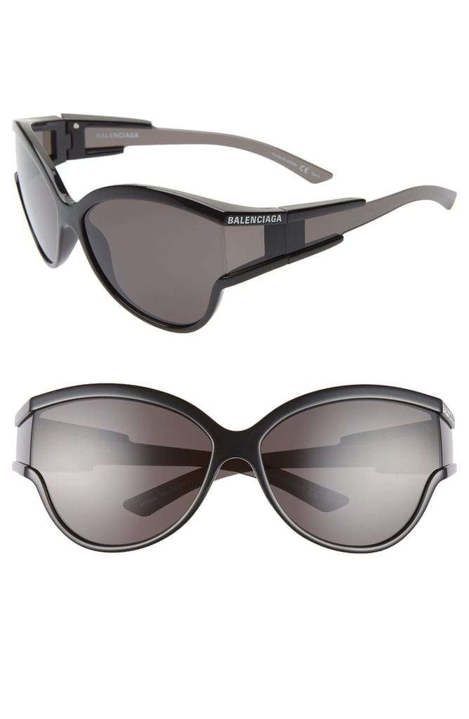 e33655f1d2bc9 Balenciaga 63mm Oversize Cat Eye Sunglasses