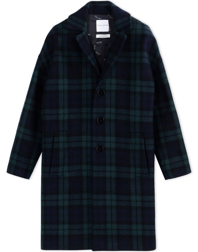 Each x Other Plaid Coat ($825)