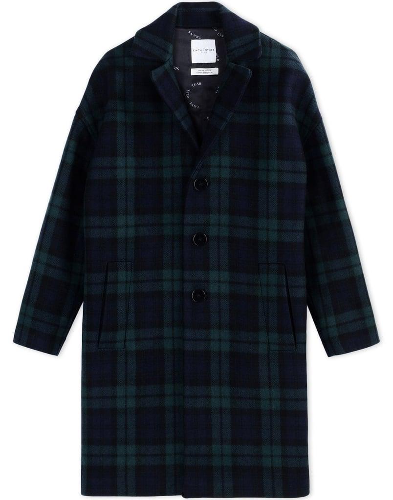 Each x Other Plaid Coat ($825)