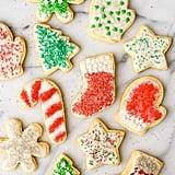 Festive Cream Cheese Sugar Cookies