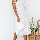 Ecowish Summer Midi Dress