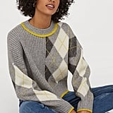 H&M x Pringle of Scotland Jacquard-Knit Sweater