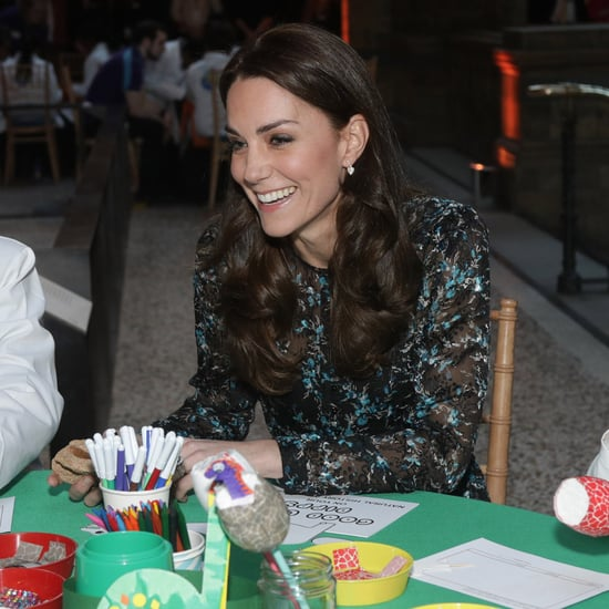 Kate Middleton im Natural History Museum in London 2016