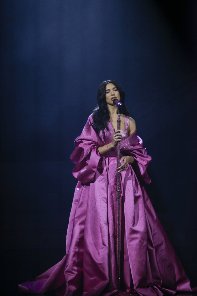 Dua Lipa's Pink Gown at the 2021 Grammys