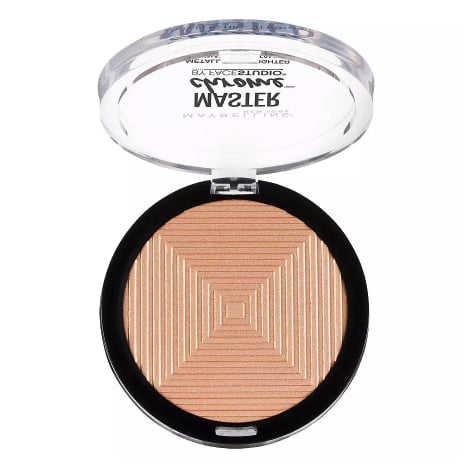 Maybelline Facestudio Master Chrome Metallic Highlighter Makeup,Molten Gold