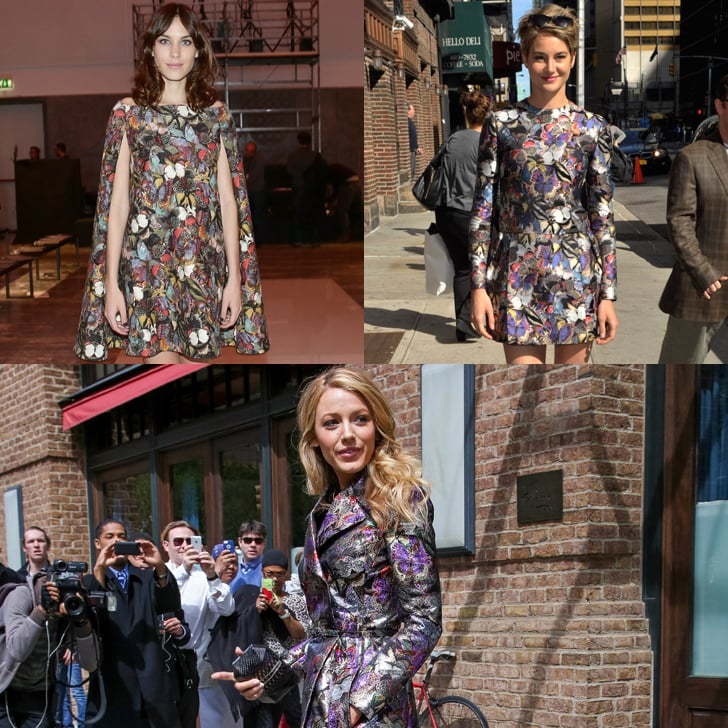 Stars Are Addicted to the Valentino Butterfly Effect