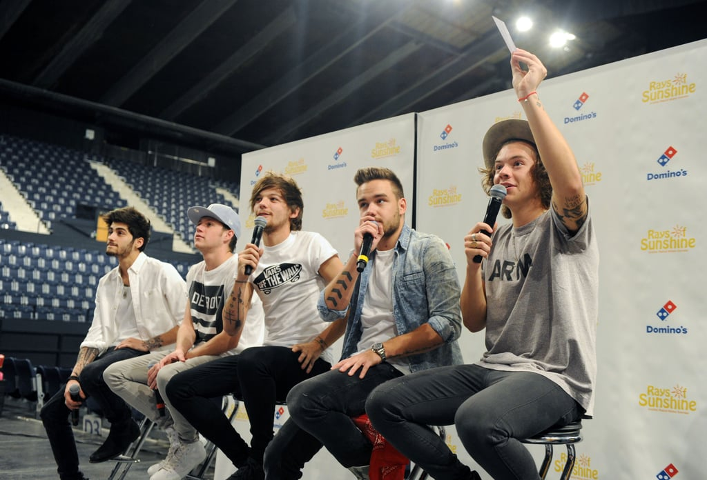 One Direction at an Event at Wembley Arena in London in 2014