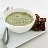 Broccoli Soup Richened With Greek Yogurt