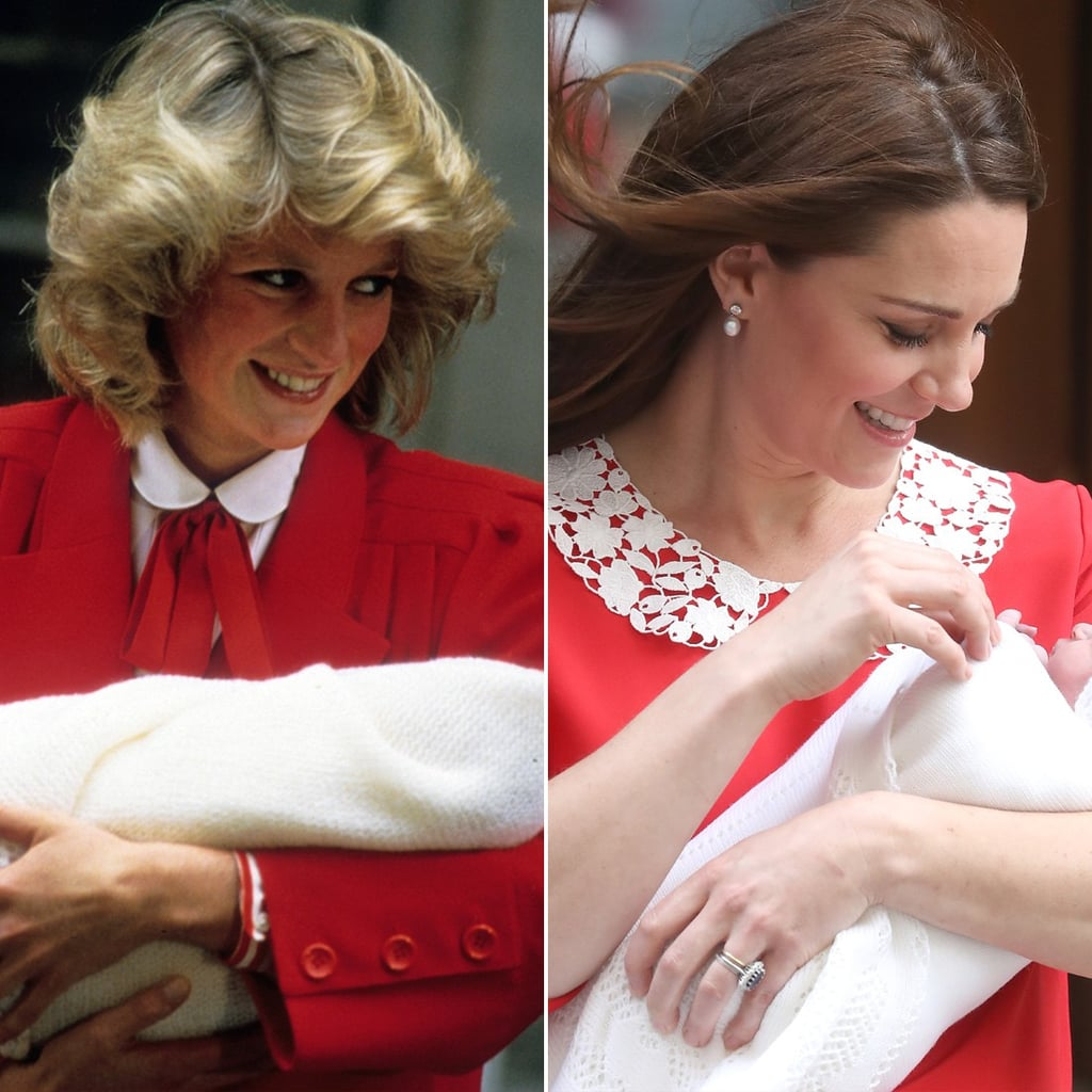 Princess Diana And Kate Middleton Royal Baby Pictures