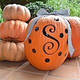 """Carved"" Pumpkins (Without the Knife!)"