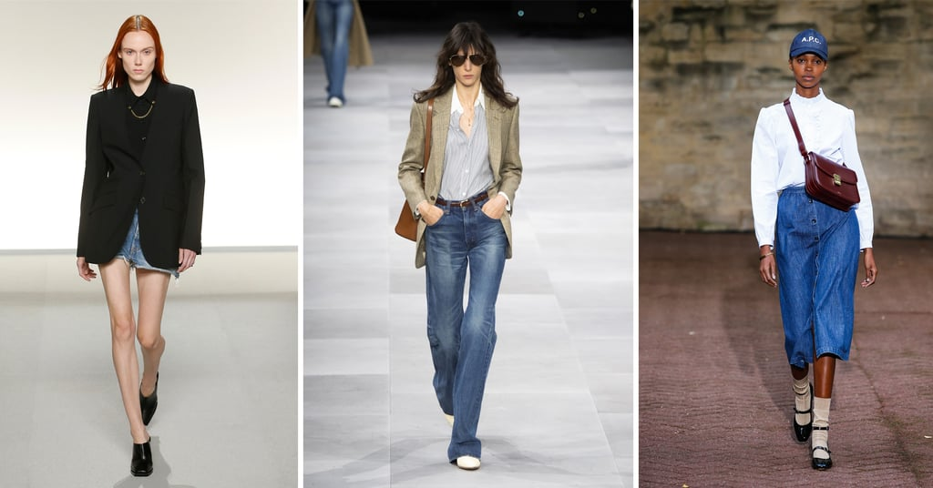 7 Ways to Wear Denim, Straight From the Spring 2020 Runways
