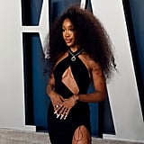SZA at the Vanity Fair Oscars Afterparty 2020