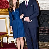 And Let's Be Real — Their Engagement Shoot Was All About Drawing Attention to Kate's Sapphire Ring