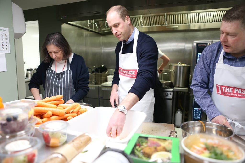 Prince William Royal Patron of The Passage Charity