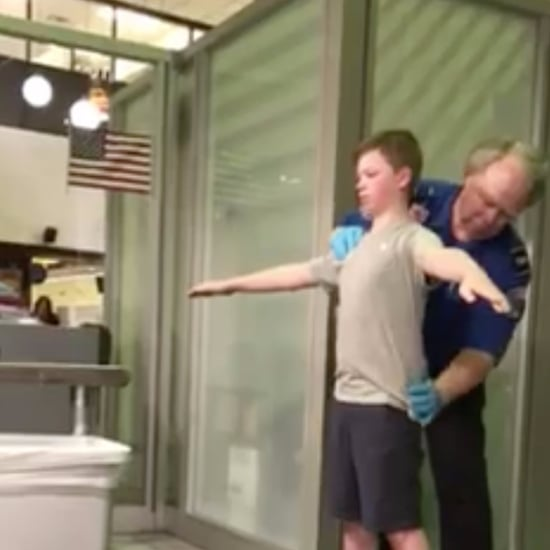 TSA Pats Down Boy With Disabilities