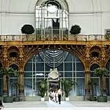 As Ever, Chanel Staged Its Show in a Dramatic Setting