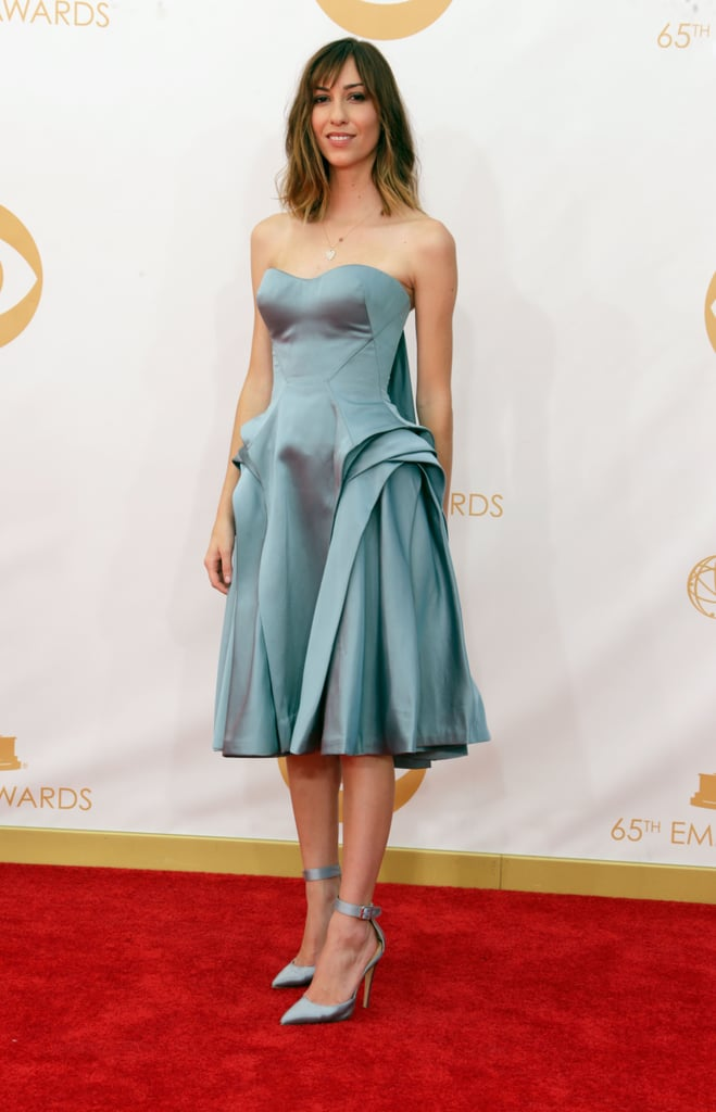 Gia Coppola walked the Emmys red carpet.