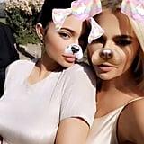 The Kardashians at Kanye West's Coachella Sunday Service