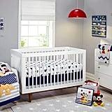 Disney Let's Go Mickey II 4 Piece Crib Bedding Set