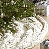 Cozy Knit Tree Skirt